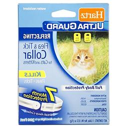 Hartz 02899 White 2 In 1® Advanced CareTM Flea & Tick Colla