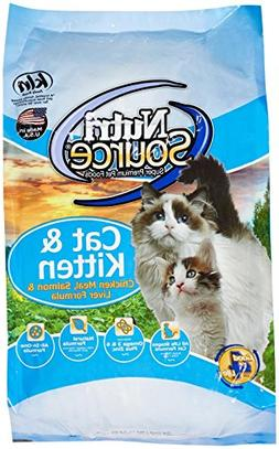 Tuffy's Pet Food 131544 Nutri Cat/Kitten Chicken/Salmon/Live