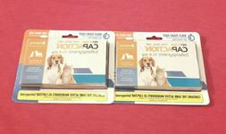 2 PetAction CapAction For Dogs/Cats 2-25lbs New  57mg Kills