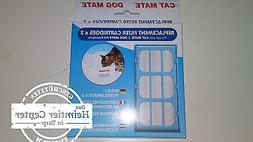 Cat Mate 2 x 2 Filter Replacement Filter Drinking Fountain F