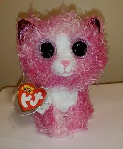 2020 NEW - Ty Beanie Boos - REAGAN the Pink Cat  MINT with M