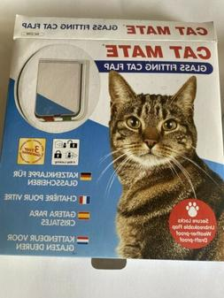 Cat Mate Inc 210 Glass&Screen Door