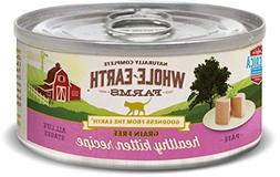Whole Earth Farms 24 Case Grain Free Real Healthy Kitten Rec