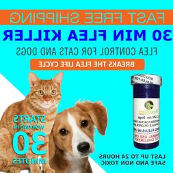12 Tablets Flea Killer For Cats and Dogs 2-25 Lbs. 12 Mg Qui