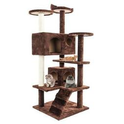 52 cat tree tower condo furniture scratch