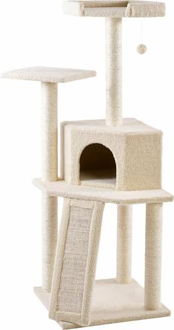 Frisco 52-in Cat Tree House Furniture for Cats & Kittens Pla