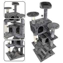 52 sturdy cat tree tower activity center