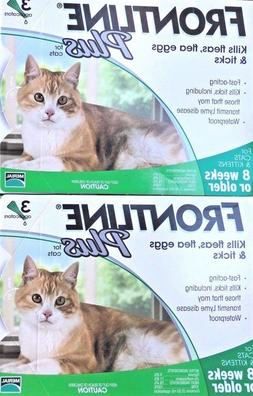 6 Doses Genuine Frontline Plus For CATS 6 Month Supply Cat F