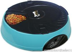 Qpets 6-Meal Automatic Pet Feeder for dog cat Free shipping