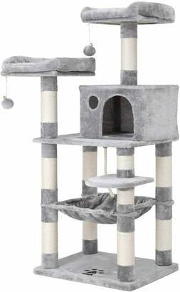 """72"""" Cat Tree Tower Condo House For Large Cats Scratching Pos"""