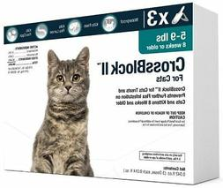 CrossBlock II Once a Month Topical Flea Prevention for Small