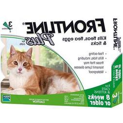 Frontline Plus 3 Month Supply For Cats Over 8-Weeks Fast Fre