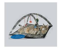 Play Tent for Cats - Interactive - excersize - open arch zeb