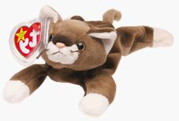 Ty Beanie Babies - Pounce the Cat