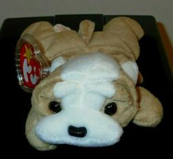 Ty Beanie Babies - Wrinkles the Dog - Retired