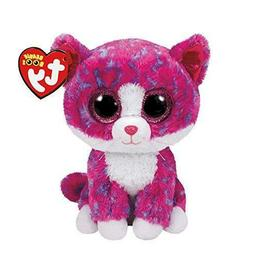 Ty Beanie Boo Charlotte Pink Cat Large J.. 4c88a5e0772a
