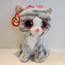 47334907ed0 Ty Kiki Grey Cat Plush