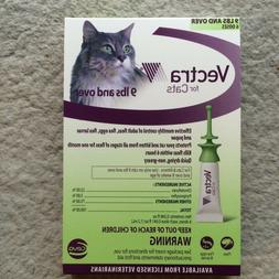 Vectra For Large Cats Over 9 lbs 6 Doses Green Cat Flea Cont