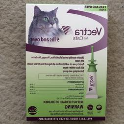 Vectra For Large Cats  and Kittens Over 9 lbs. 3 Doses Green