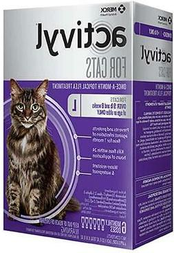 Activyl Spot-On for Cats and Kittens over 9 lbs - 6 Doses -