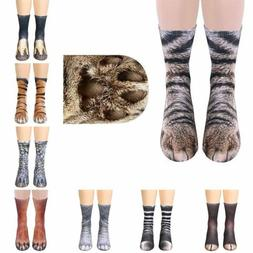 Adults Children Kid Novelty Sublimated 3D Horse Animal Feet