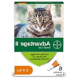 Advantage II For S Cats 5-9 lbs, Orange by Unknown