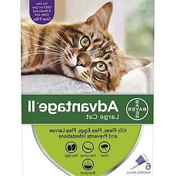 Bayer Advantage II Flea Prevention for Cats over 9lbs - 6 Do