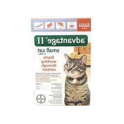 Bayer Advantage II Flea Treatment for Small Cats 5-9 Lbs - 6