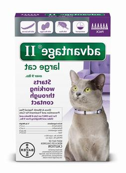 Advantage II for Cats over 9 lbs - 6 Pack - US EPA approved