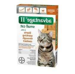 Bayer ADVANTAGE II for Small Cats 5-9 lbs , Free shiping - N