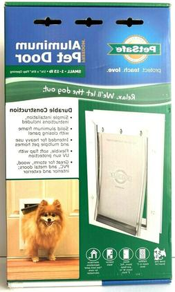 PetSafe Aluminum Pet Door White / Small for Cats and Dogs 1-