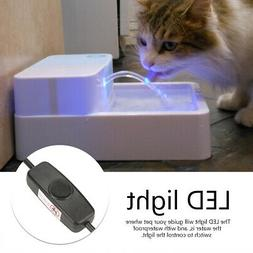 Automatic Pet Water Drinking Feeder Dispenser for Dog Cat wi