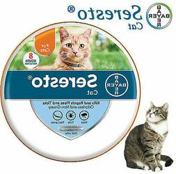 Bayer Seresto Flea and Tick Treatment Collar For cat 7-8 Mon