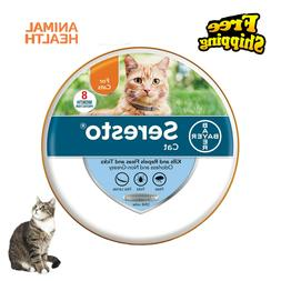 Bayer Seresto Flea and Tick Collar for Cats,8 Month Lasting