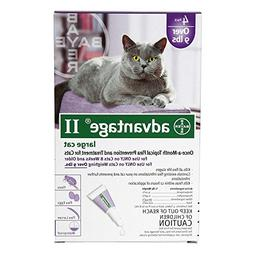 Bayer Advantage II, Cat, over 9 lbs, 4pk