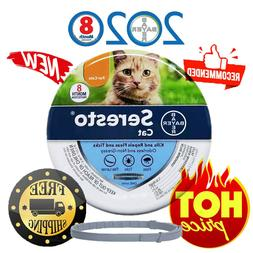 Bayer Seresto Flea and Tick Collar for Cats All Weight 8 Mon