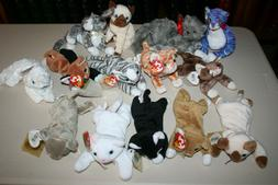 Ty Beanie Babies Original Lot of 14 CATS