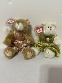 Ty Beanie Babies Poseable Cats 1993