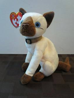 33af32476 Ty Beanie Babies Siam the Siamese cat, 2...