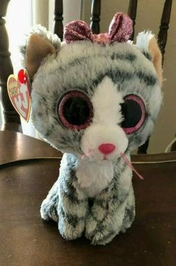 "TY Beanie Baby Boos Kiki the Kitty Cat new with tags 6""  201"