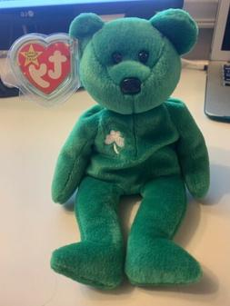 Ty Beanie Baby Erin The Bear with TAG ERRORS