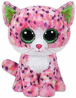 """Ty Beanie Boo's -Sophie- Pink 6"""" Inch Cat Kitten Plush New F"""