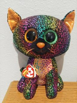 """Ty Beanie Boo Spellbound 9"""" Claire's New With Tags Halloween"""