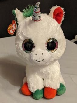 TY Beanie Boos Big Eyes Stuffed Plush Collectable Candy Cane