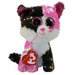 """Ty Beanie Boos Flippables 6"""" MALIBU the Color Changing Sequi"""