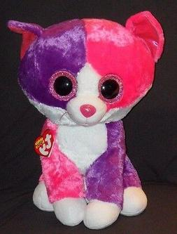 """TY BEANIE BOOS - PELLIE the LARGE 16"""" CAT - CLAIRE'S EXCLUSI"""