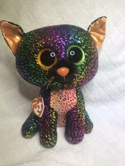 TY Beanie Boos SPELLBOUND 9in Halloween Cat Claire's Exclu
