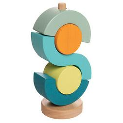 Manhattan Toy Boom Shock-a-Locka Wooden Stacking Toy for Tod