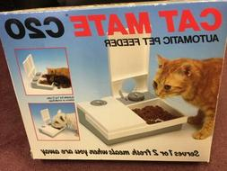 Cat  Mate C20 Automatic Pet Feeder New In Box