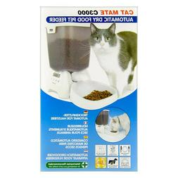 Cat Mate C3000 Automatic Dry Food Pet Feeder